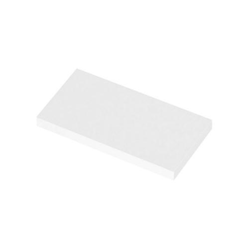500mm Polymarble WC Top (255mm Deep)