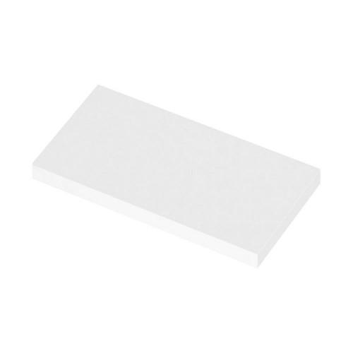 600mm Polymarble WC Top (255mm Deep)