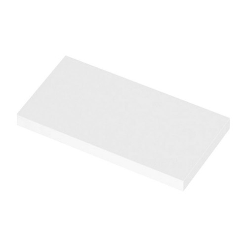 600mm Polymarble WC Top (355mm Deep)