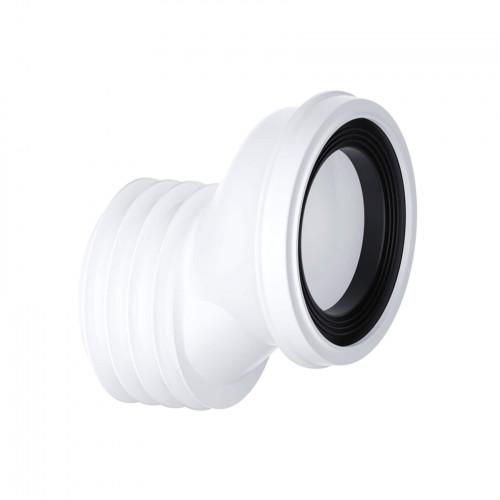 Viva Sanitary 40mm Offset 'EASI-FIT' Pan Connector