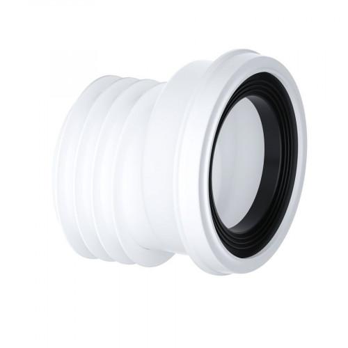 Viva Sanitary 20mm Offset 'EASI-FIT' Pan Connector