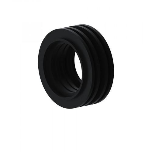 Viva Sanitary Internal Flush Cone (Black)