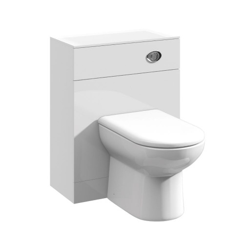Mayford 600mm x 330mm Gloss White WC Unit
