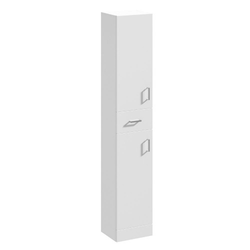 Mayford 350mm x 330mm Gloss White Floorstanding Tall Unit