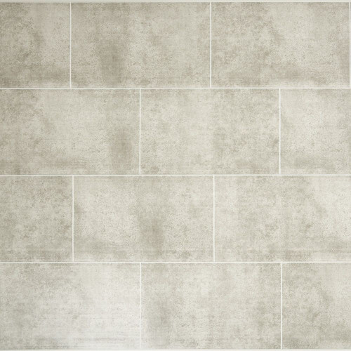 Proplas Stone Grey Tile 250mm x 2800mm x 8mm Wall & Bathroom Panelling (Pack of 4)