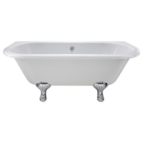 Kenton 1690mm x 745mm Freestanding Double Ended Bath & Pride Leg Set