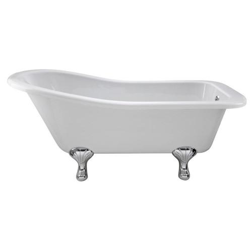 Brockley 1500mm x 730mm Freestanding Slipper Bath & Corbel Leg Set