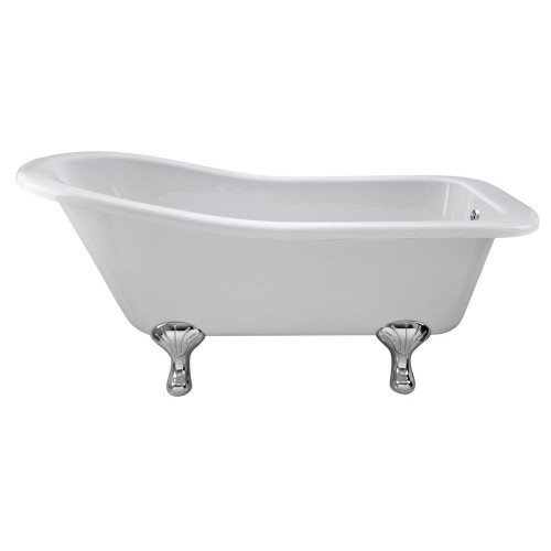 Brockley 1700mm x 730mm Freestanding Slipper Bath & Corbel Leg Set