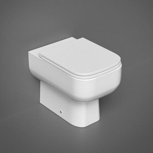 RAK Series 600 Back To Wall WC Pan & Slimline Soft Close Seat