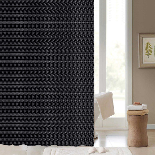 Starry Night Polyester Shower Curtain 1800mm x 1800mm