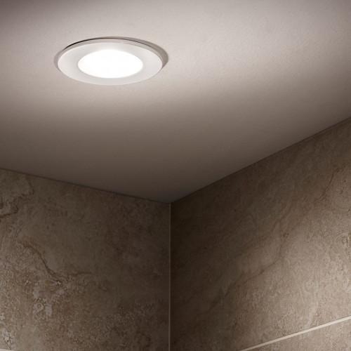 Designer Shower Light - White