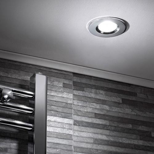 Designer Shower Light - Chrome
