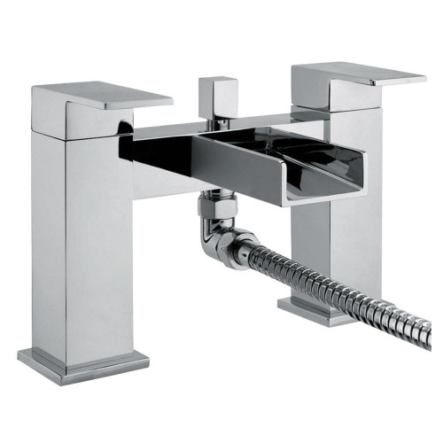 Series Z Chrome Bath Shower Mixer & Shower Kit