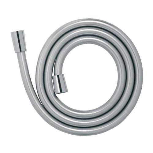 1.5m Silver PVC Shower Flex Hose