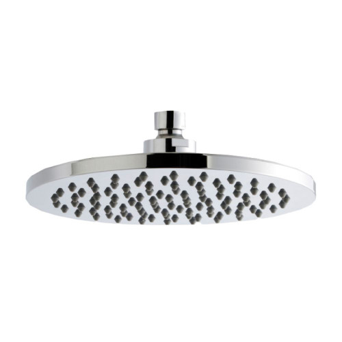 Round Chrome ABS Fixed Shower Head 200mm x 200mm