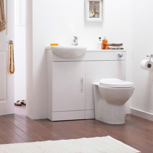 Sienna Cloakroom Furniture Pack - With Tap