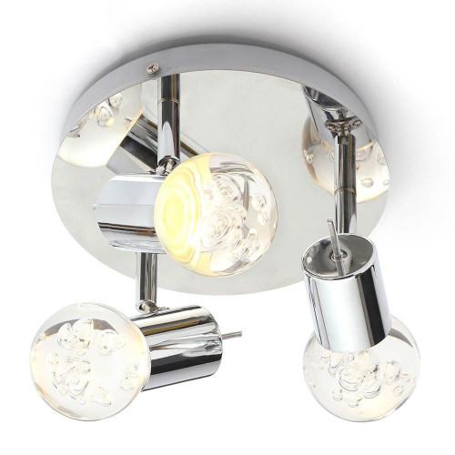 Bubble 3 Light Ceiling Spotlight Fitting