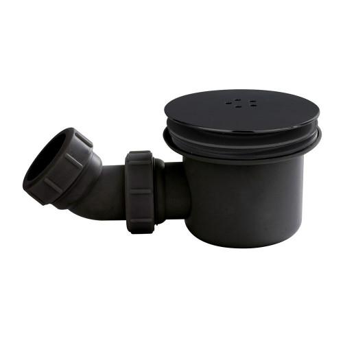 Nuie 90mm Mega Flow Shower Waste - Black