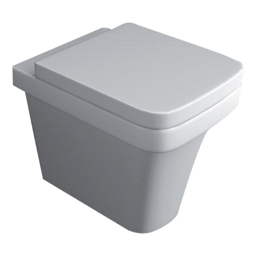 Sicily Back to Wall Pan & Soft Close Seat
