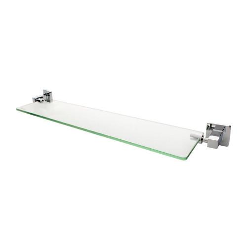 Verona Glass Vanity Shelf - Chrome