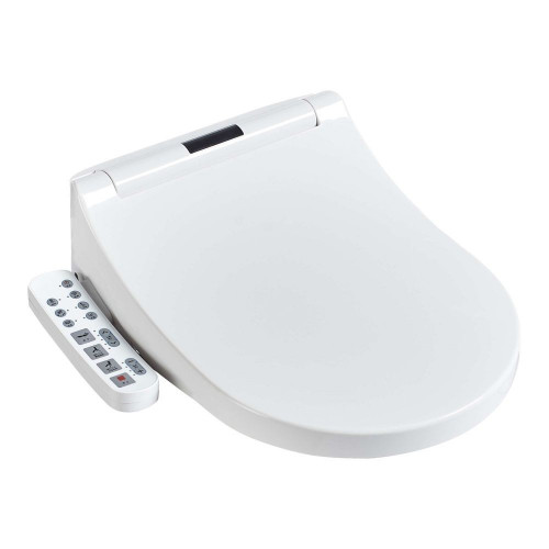 Heated Bidet Toilet Seat With Dual Nozzle & Massage Control