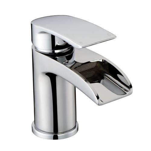 Vespa Chrome Basin Mono Mixer & Slotted Sprung Basin Waste
