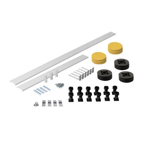 MX White Panel Riser Pack For Rectangle Trays Up To 2000mm