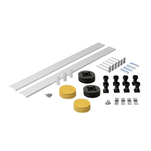 MX White Panel Riser Pack For Square/Rectangle Trays Up To 1200mm