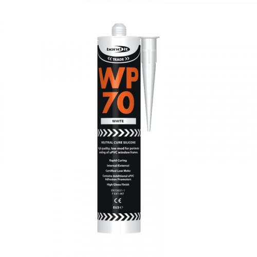 Bond-It WP70 Low Modulus Oxime Silicone Sealant - White EU3