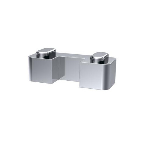 Wetroom Screen Horseshoe Support For 8mm Glass - Chrome