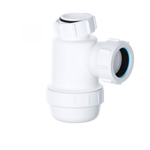 """Viva Sanitary 32mm (1 1/4"""") EASI-FLO Shallow Bottle Trap"""