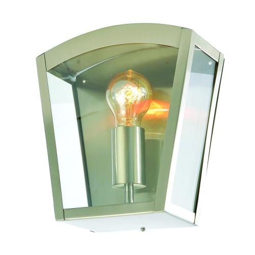 Zinc Artemis Stainless Steel Curved Box Lantern