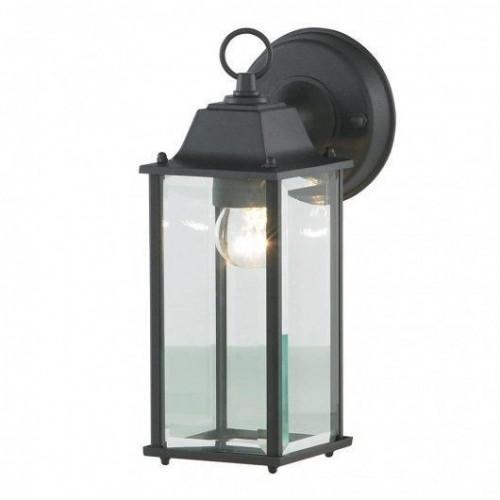 Zinc Ceres Outdoor Wall Lantern, Bevelled Glass